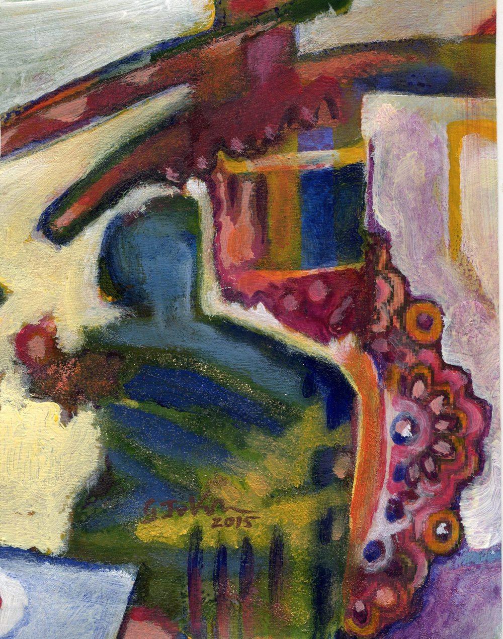 14 Janse van Vuuren, Gerhi-Thinly  on the Edge, Mixed media.jpg