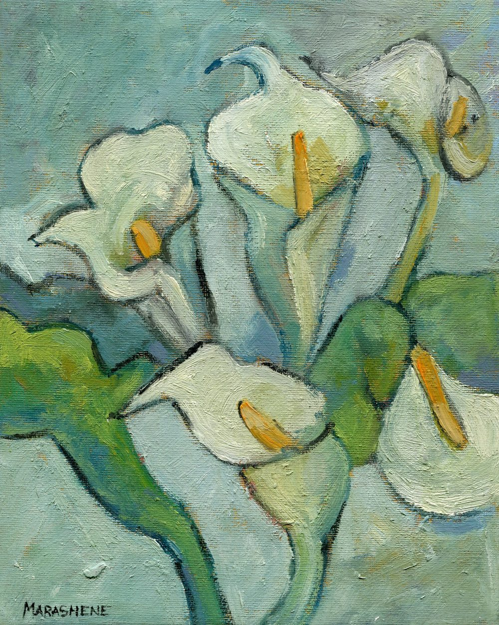 16a Lewis, Marashene-Arums,Oil on canvass.jpg