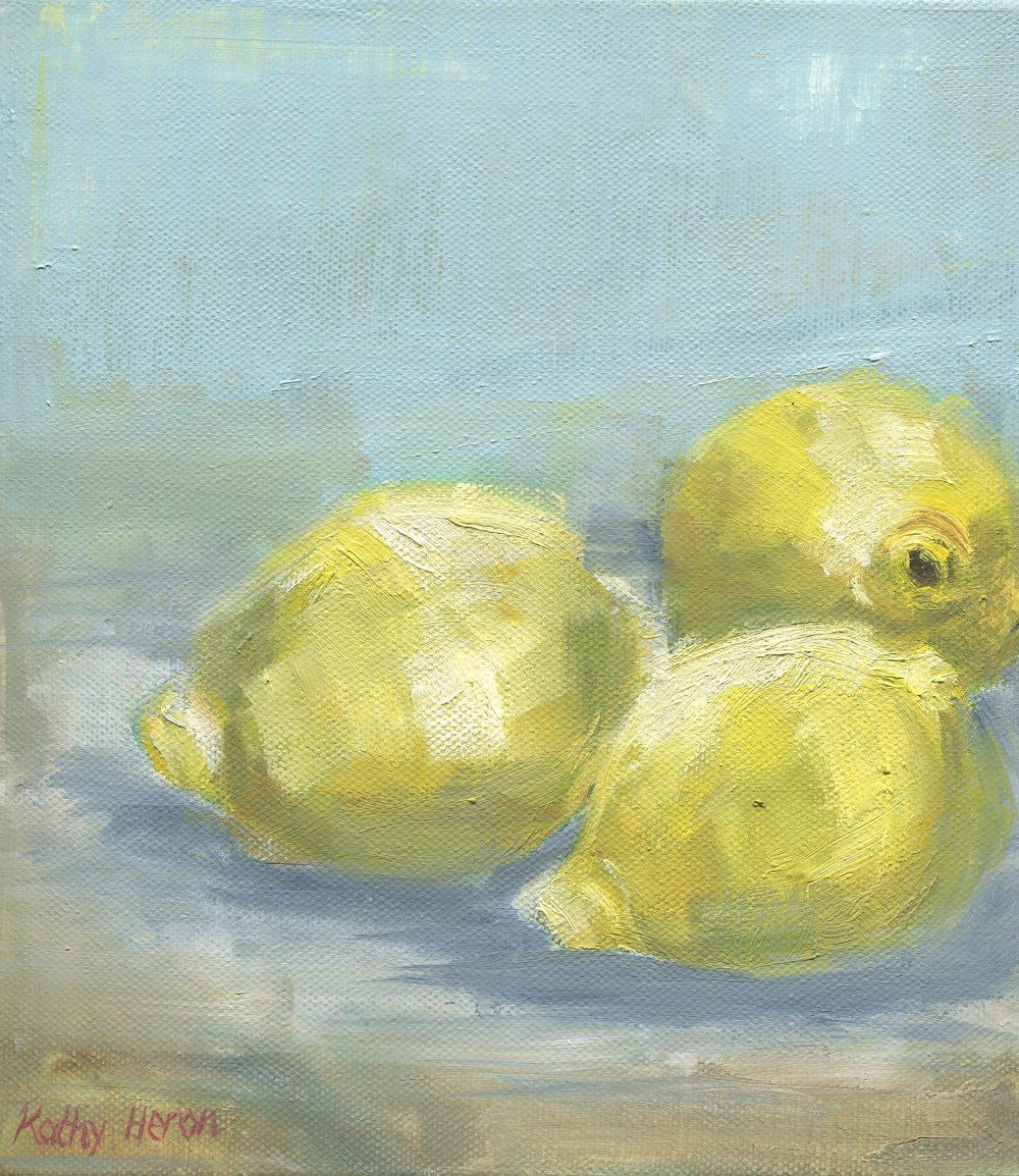 19a Heron, Kathy-Lemons on a Plate,Oil on canvass.jpg