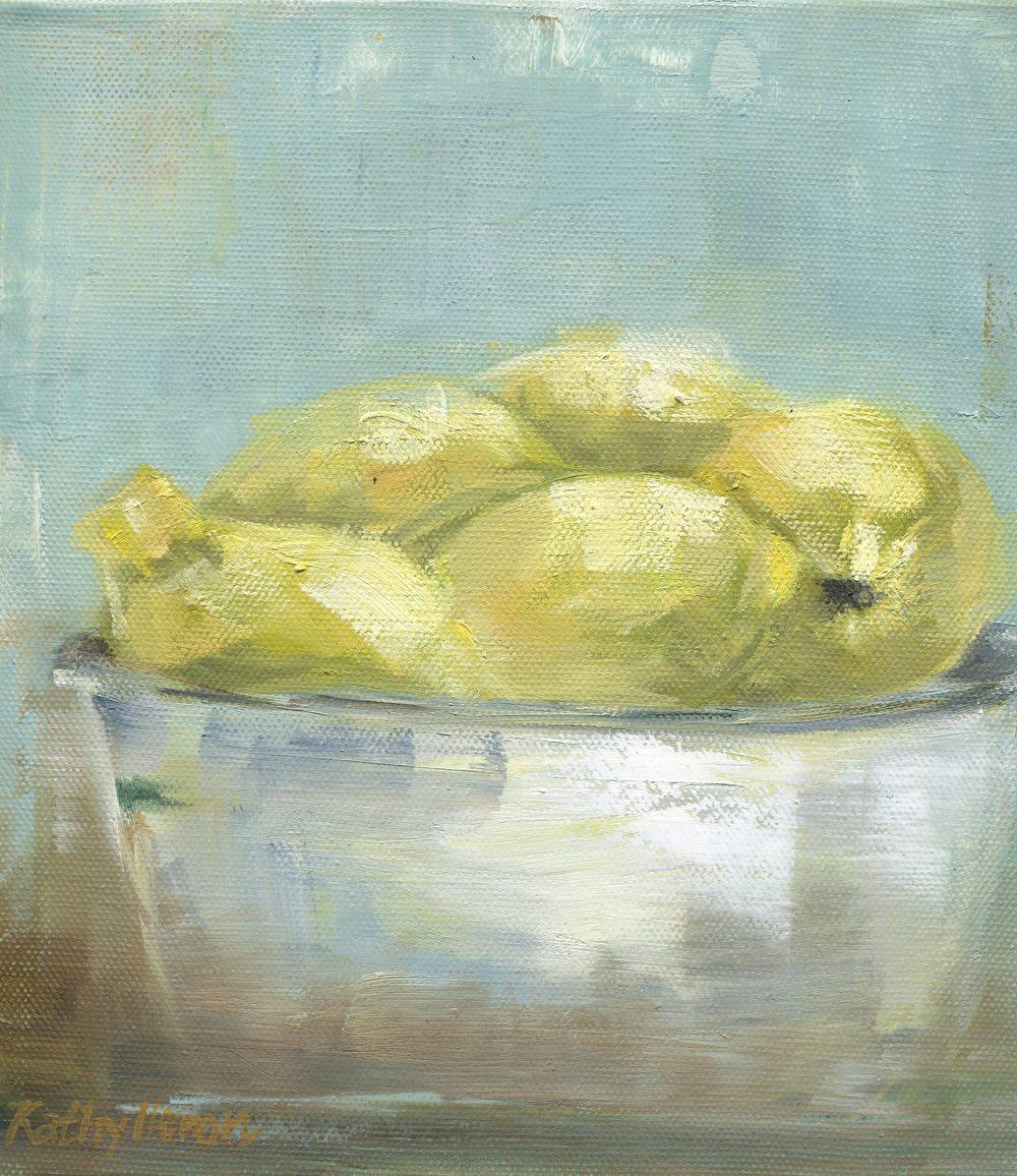 19b Heron, Kathy-Bowl of Lemons, oil on canvass.jpg