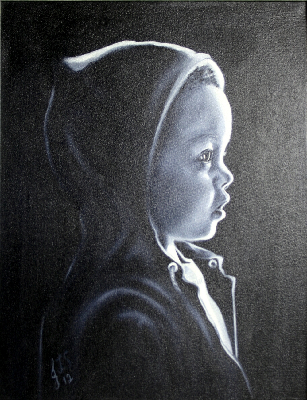 34a Sutton, Jennifer-A small boy's thoughts, oil on canvass.jpg