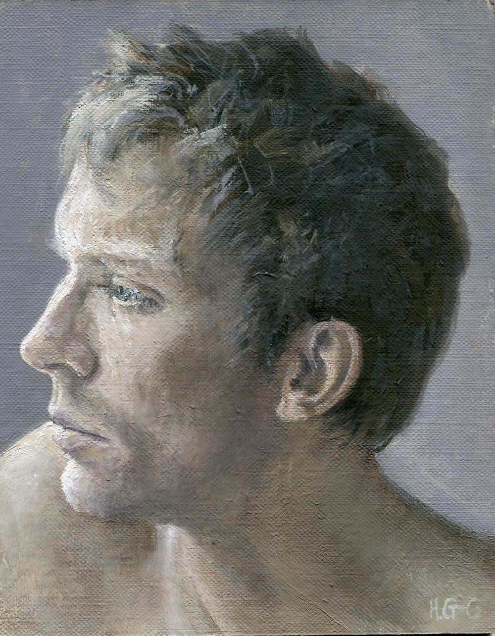 42 Gourlay Conyngham, Heather-Portrait Sketch, Oil on canvass.jpg