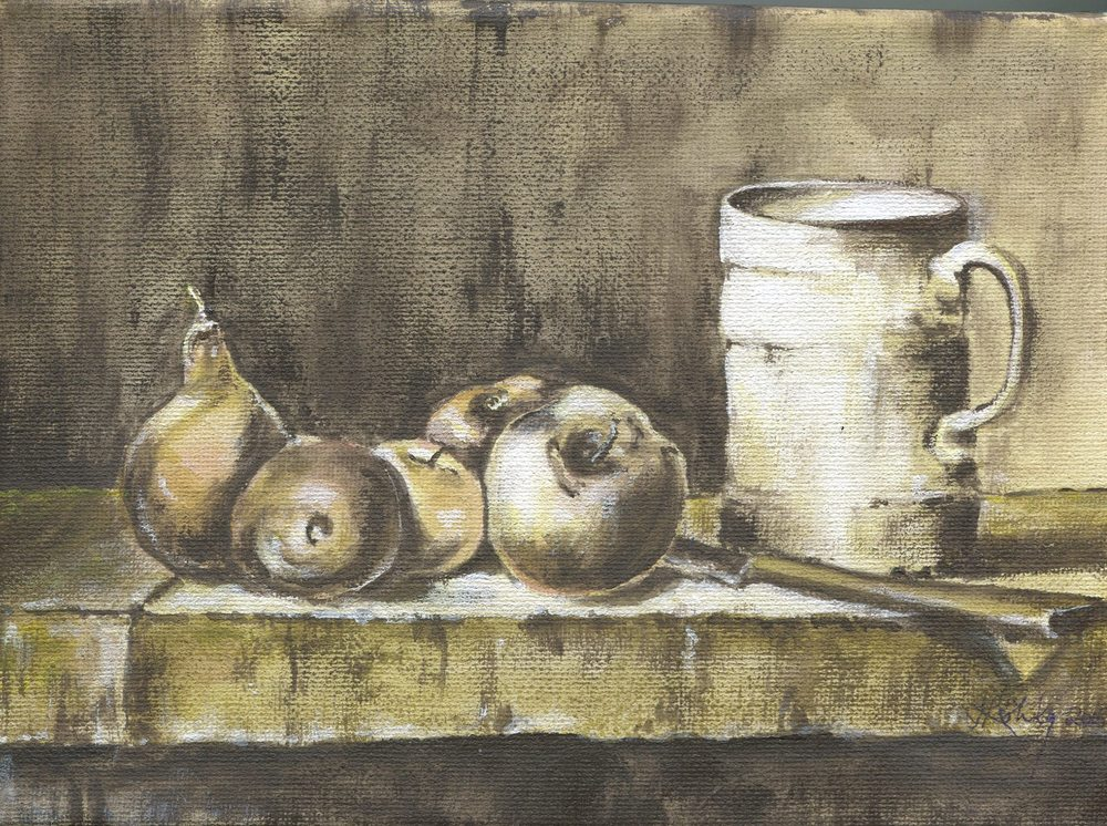 67a Kohly, Janeen - Still Life with Jug, Acrylic on canvass.jpg