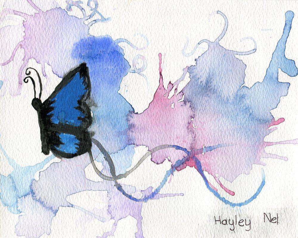 78b Nel, Hayley - Butterfly Dream, Watercolour.jpg