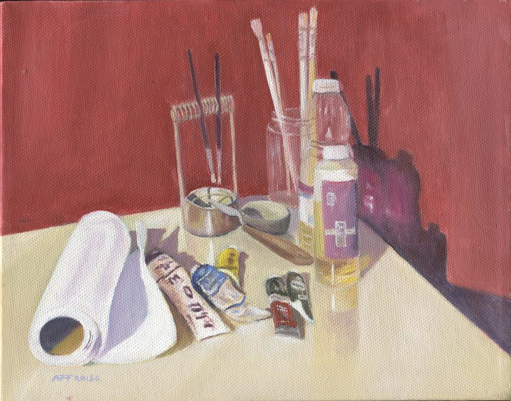 83c Froise, Fred - Artist's Tools, Oil on canvass.jpg