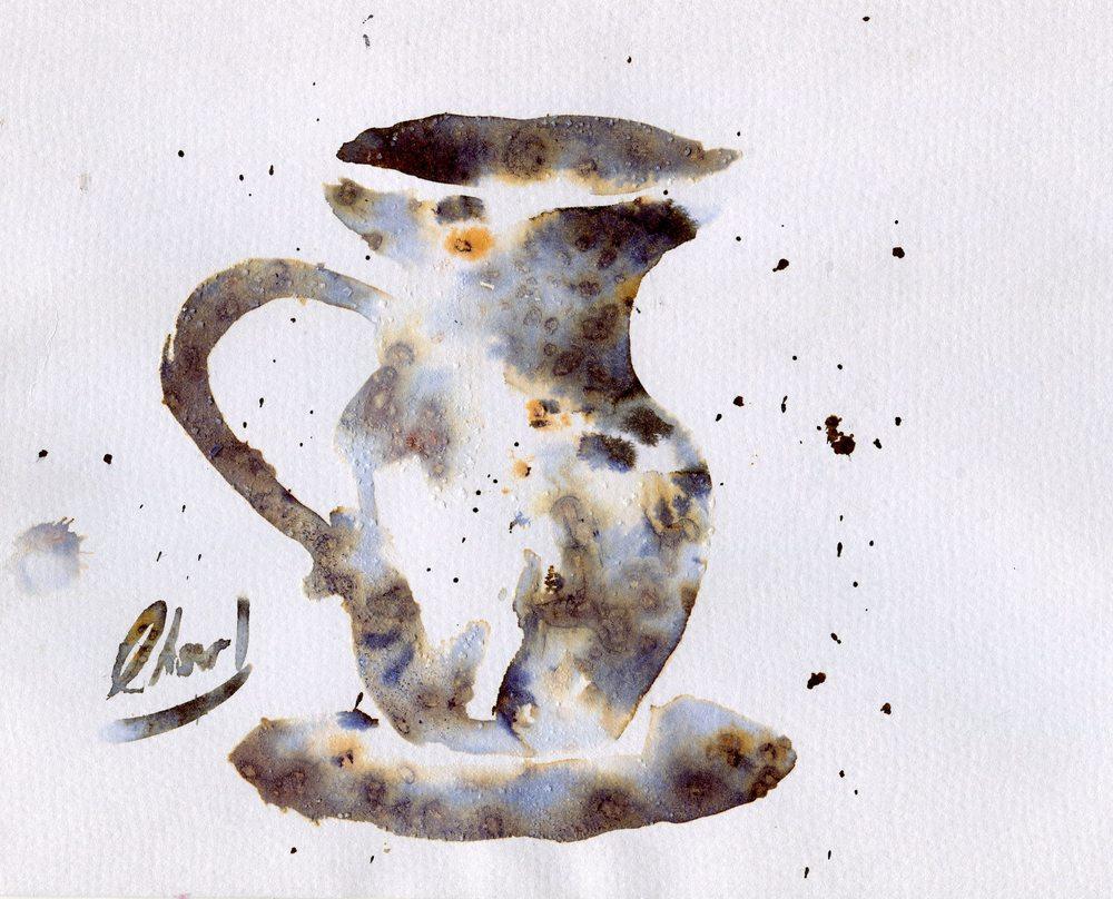84a Landberg, Charl - rusty Jug, Ink on paper..jpg