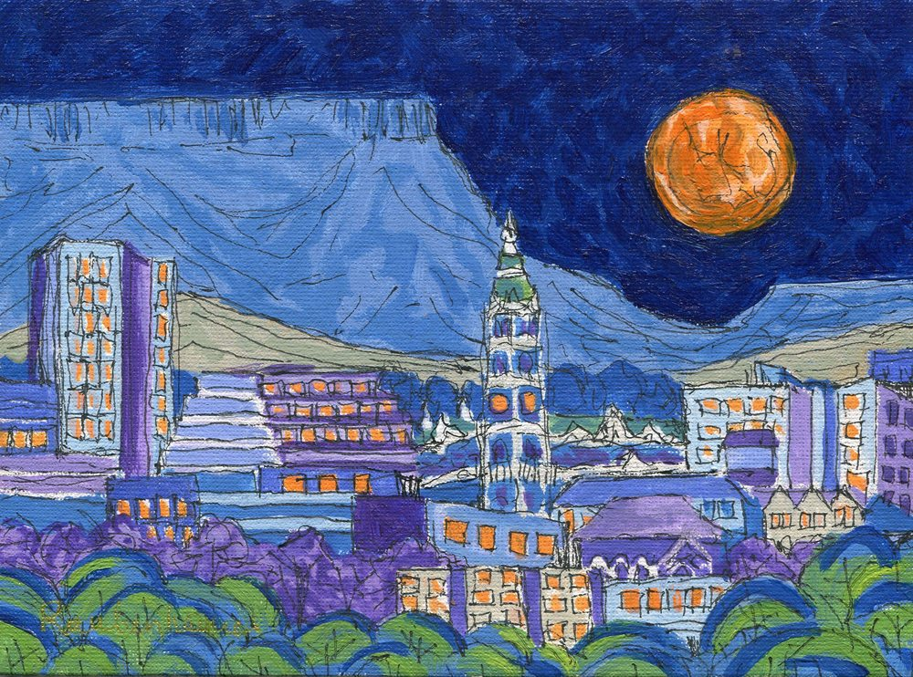 93a Raubenheimer,N.A. PMB Lunar Eclipse, Pen and Acrylic.jpg