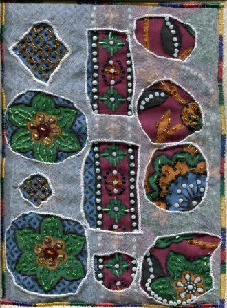 1c Sekete, Beauty- Jutta's Idea-Beauty's Garden, Fabric