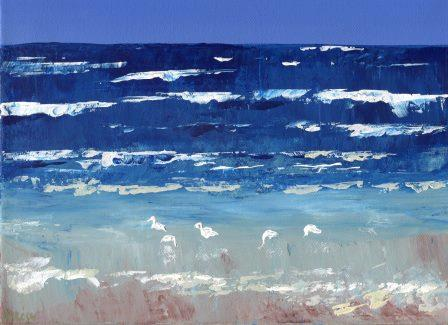 21 Steenkamp, Alecia- Ducks below waterfall,Oil on canvass.jpg