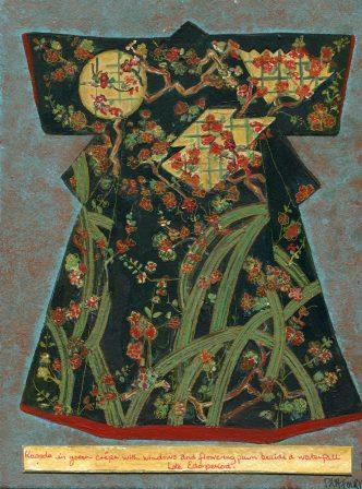 25a Fourie, Pamela Mary- Kimono,Acrylic and pen.jpg