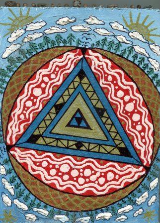 31a Groenewald, Liesbeth-Triptich Z (3 Pieces both sides)Acrylic on wood. (3b) - Copy.jpg