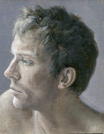 42 Gourlay Conyngham, Heather-Portrait Sketch, Oil on canvass.jpg