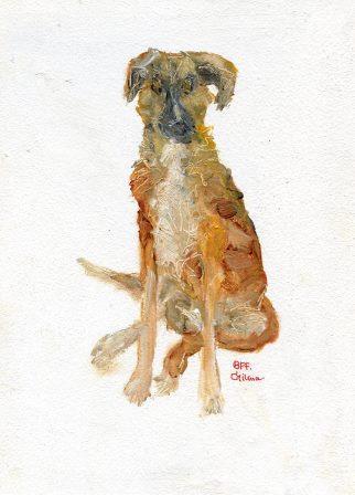 44 Richardson, Chritina-Best Friend Forever,Oil.jpg