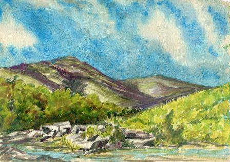 54c Fairlamb, Ruth - Cloud Shadows, Water colour.jpg