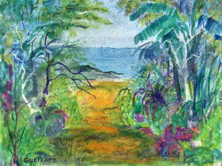 56a Platt, Sue- Beach Path, Mixed Media.jpg