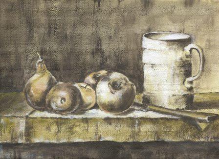 67a Kohly, Janeen - Still Life with Jug, Acrylic on canvass.jpg