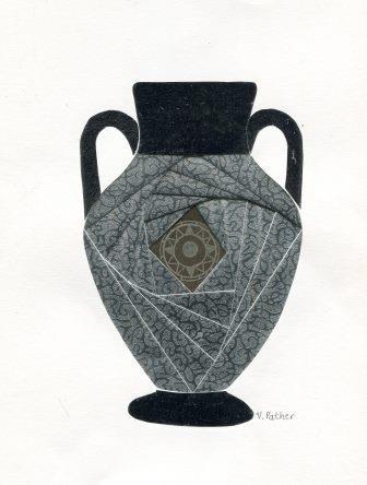 79 Pather, Vernie - Silver Urn, Mixed media..jpg