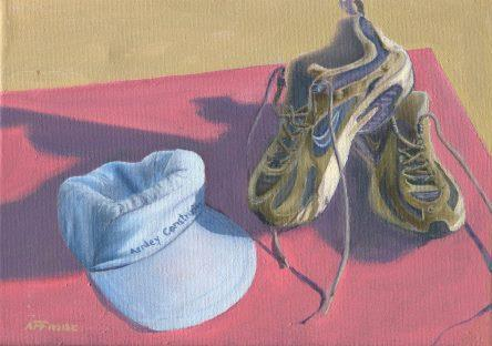 83b Froise, Fred - Running shoes, Oil on canvass..jpg