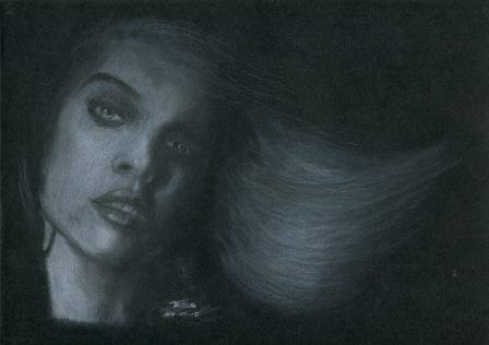87b Moodley Tazlo, Black and White, White chalk..jpg