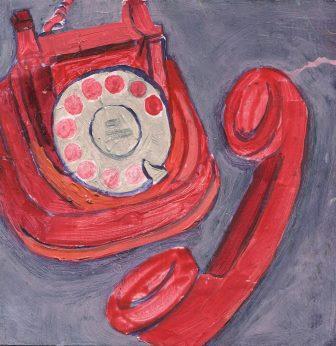 95c Spencer, Faye - Untitled, Oil on board..jpg