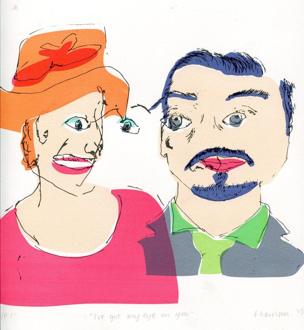 103 Harrison, Frances - Ive got my eye on you, Silkscreen.jpg