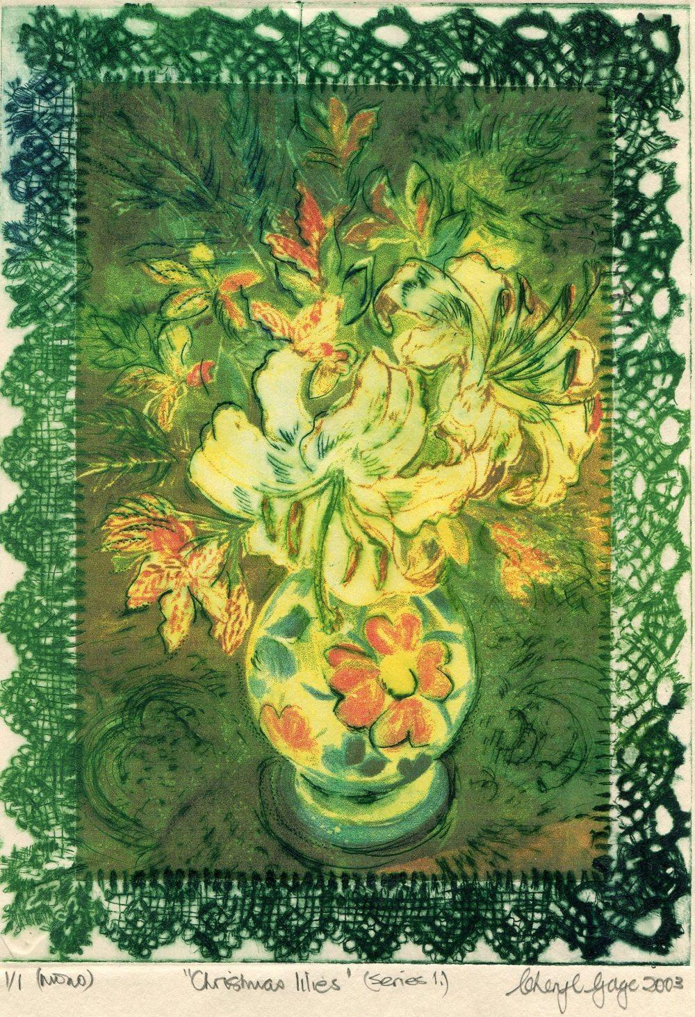 98a Gage, Cheryl- Christmas Lilies  (series I).jpg