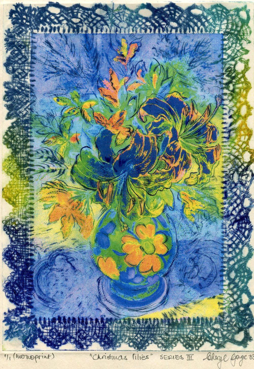 98b Gage, Cheryl - Christmas Lilies ( series III ).jpg