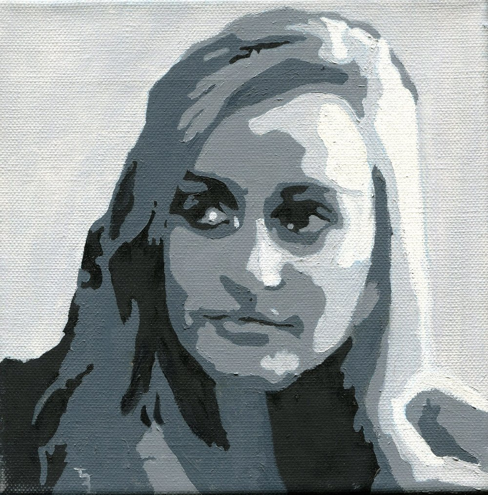 101b Tereza Harling, Isabell, Oil on canvas