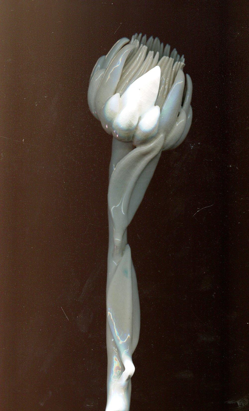 48a Mick Haigh, Protea , Glazed earthenware