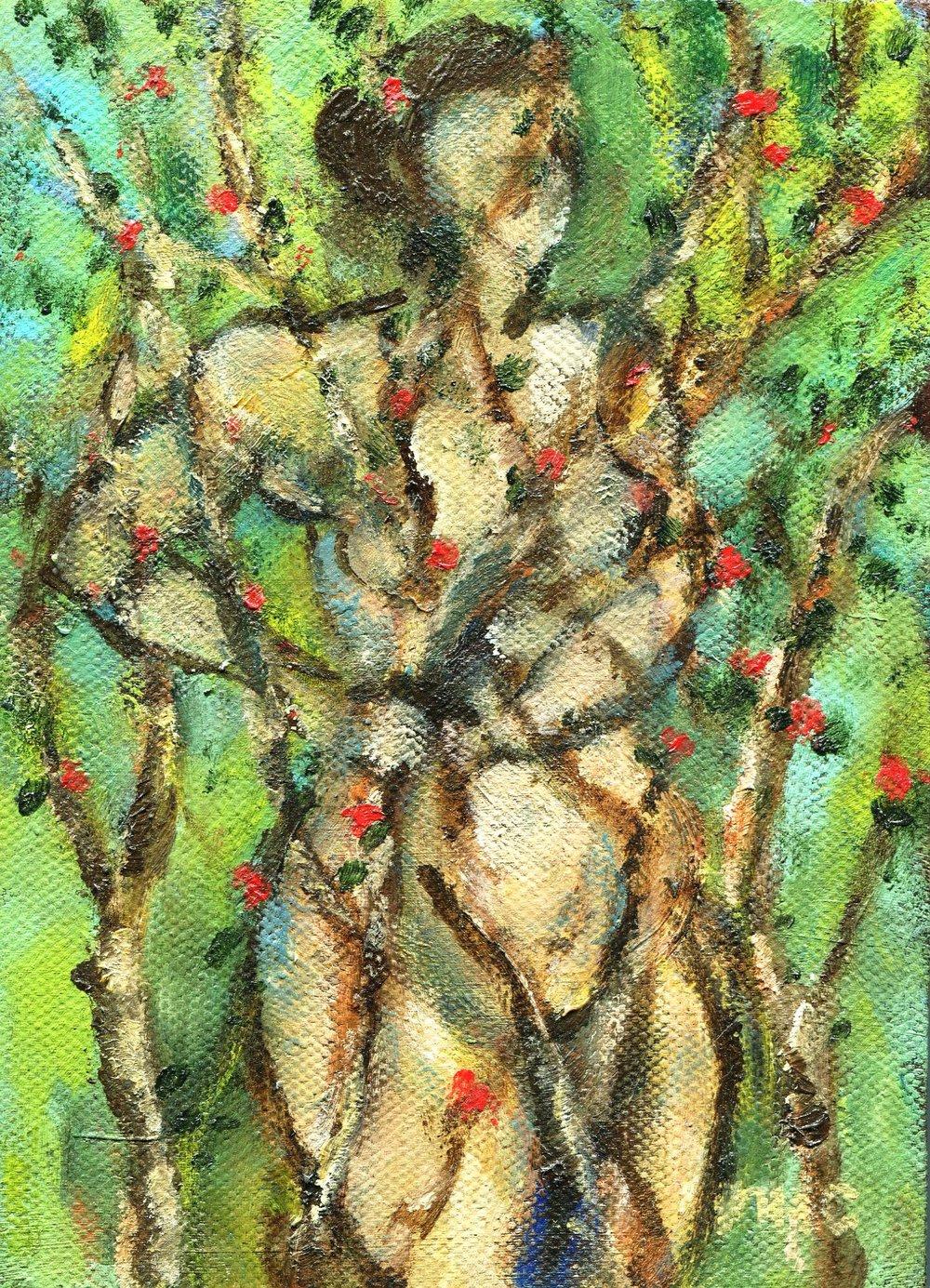 70c Moray Comrie,  Osiana, Oil on canvas