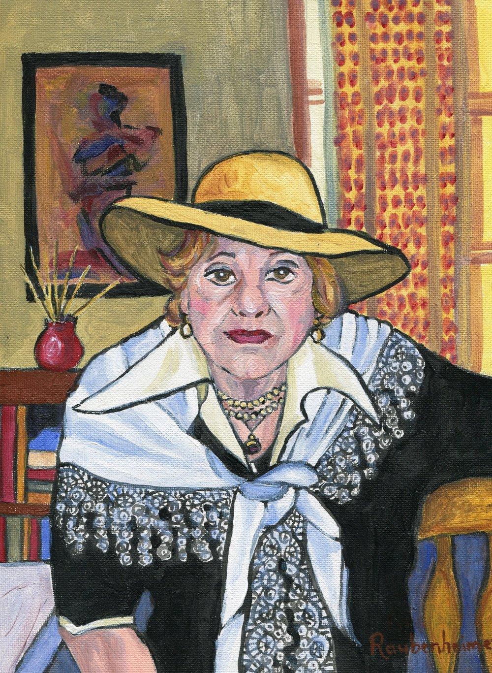 06b Nardi-Anne Raubenheimer,  Icon, Acrylic on canvas