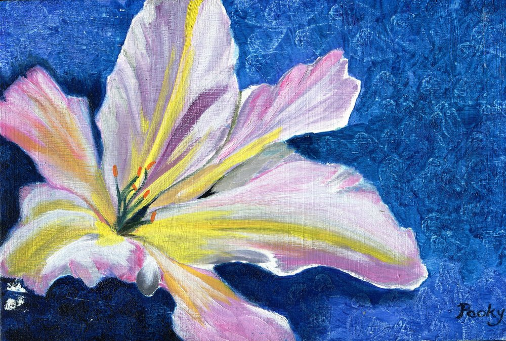 31b Patricia McCann, Celebration, Oil on canvas