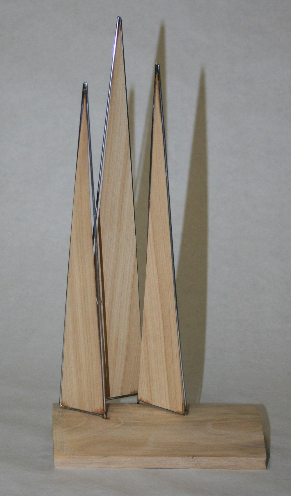 104b David Gush, Trees, Wood & metal