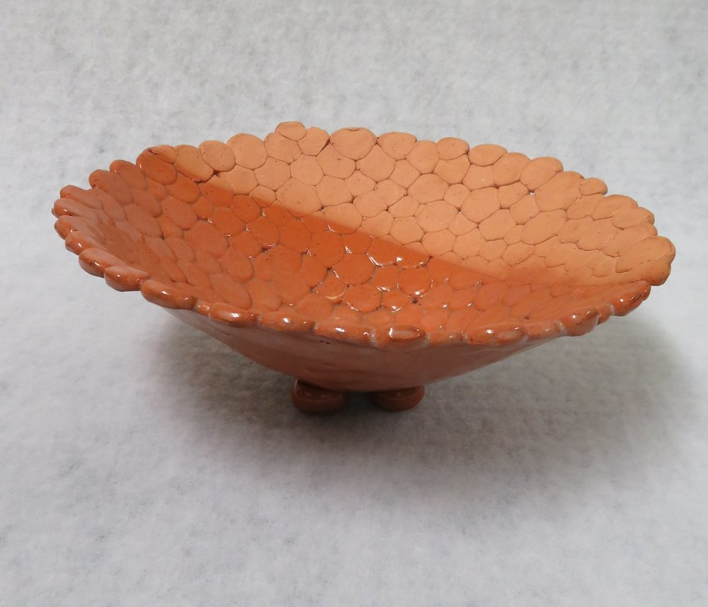 22C  Colin Smith  Hand built bowl  terracotta