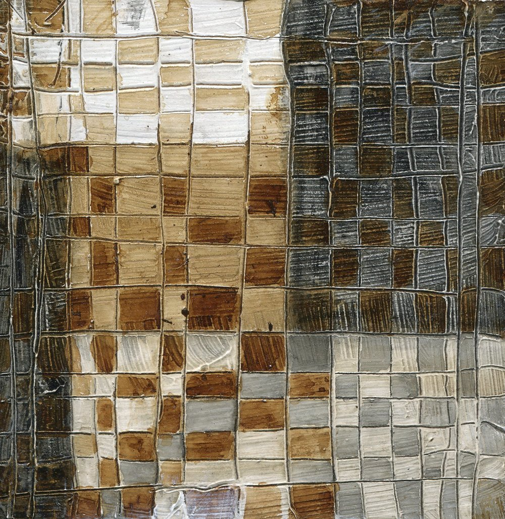 26C  Babette Fitzgerald  Mosaic  mixed media on wood