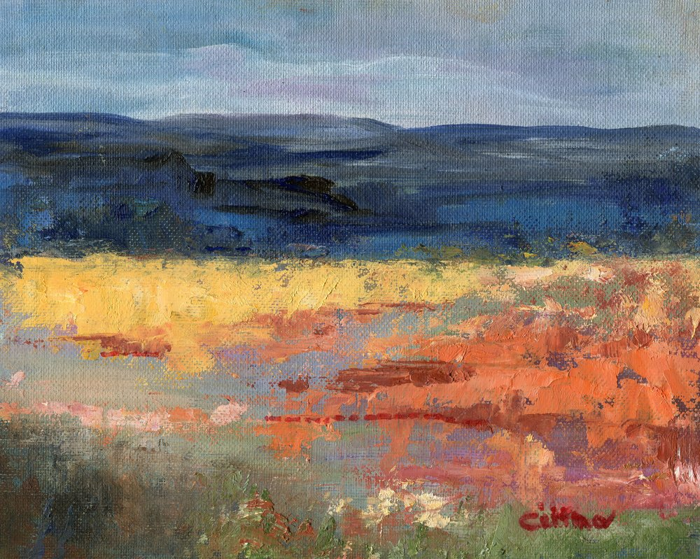 32A  Cristina Richardson  Richtersveld  oil on board
