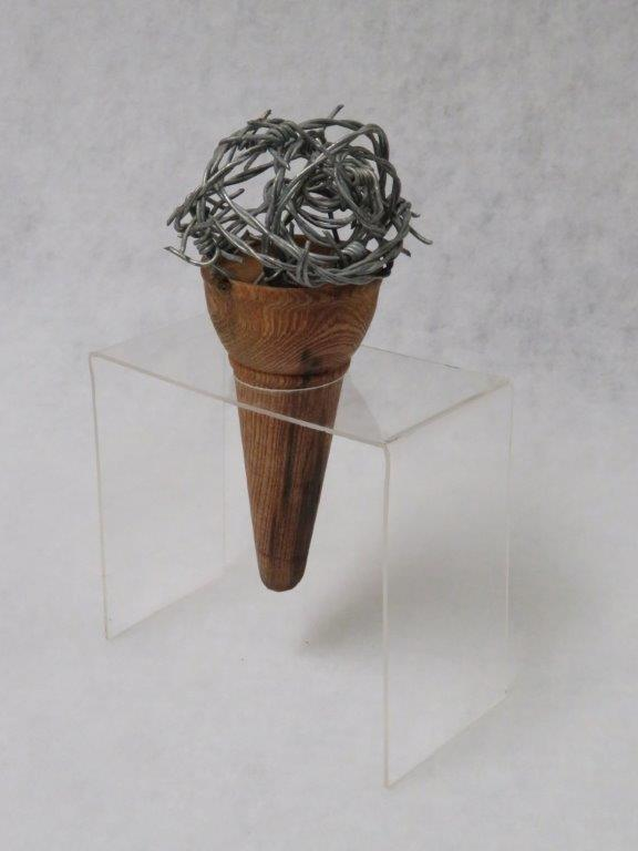 77a   David Gush  Soft serve  wire and wood