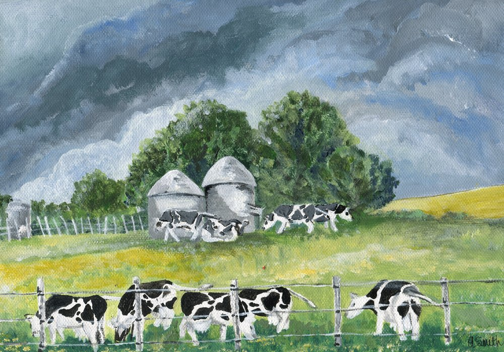 86a  Alison Smith  Before the storm  acrylic on canvas