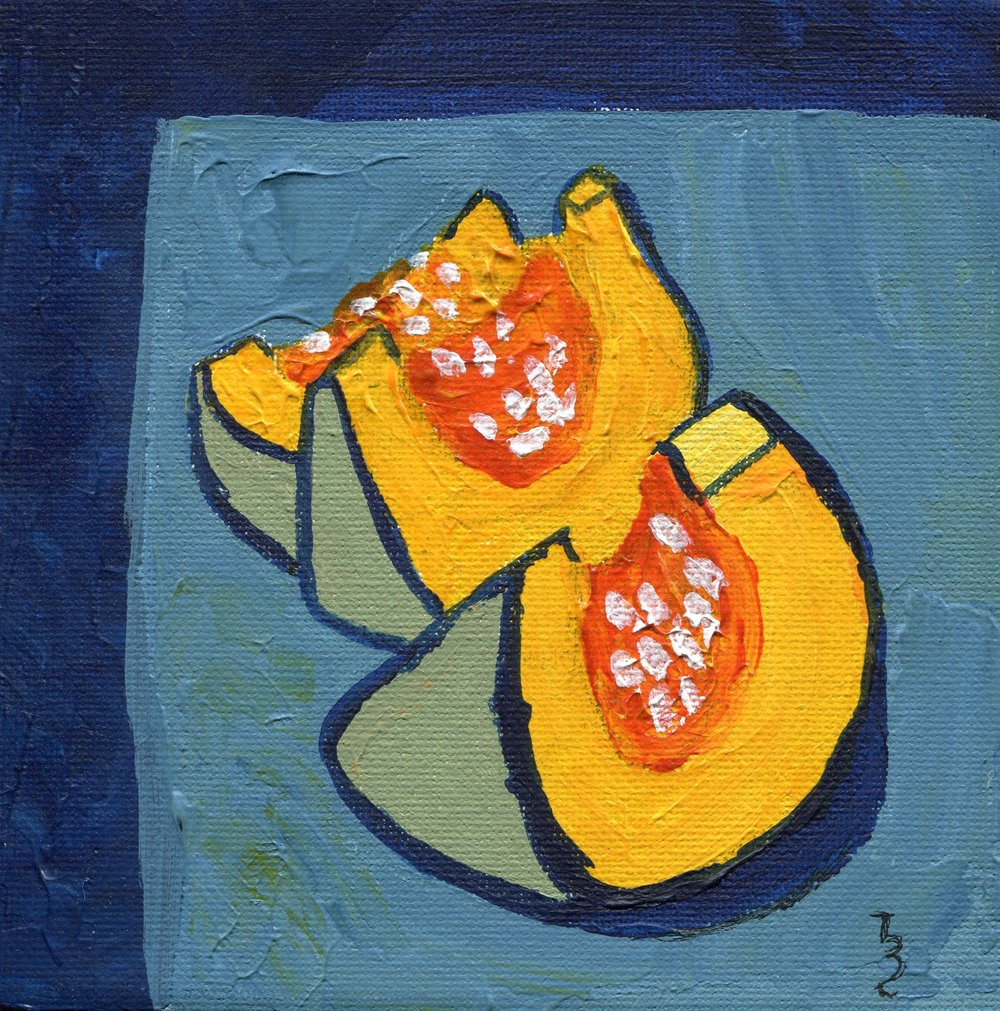 93d  Tereza Harling  Still life 2  acrylic on canvas