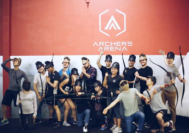 Designers by day, archers by night.