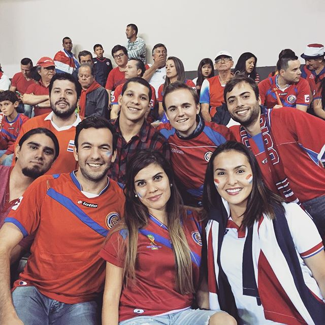 Work hard - Play hard!! 🇨🇷🇨🇦 Our KG team supporting la Sele againts Haití in the World Cup qualifying. #costarica #puravida #worldcup2018 #konradgroup