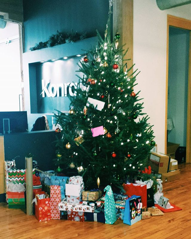 Continuing the Secret Santa tradition with our Toronto and NYC family!