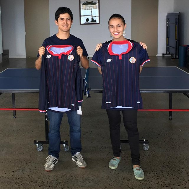 Congrats to the winners of our 2015 ping-pong tournament! Well played guys. Make sure you wear La Sele t-shirt next game! #pingpong #champ #costarica #konradgroup