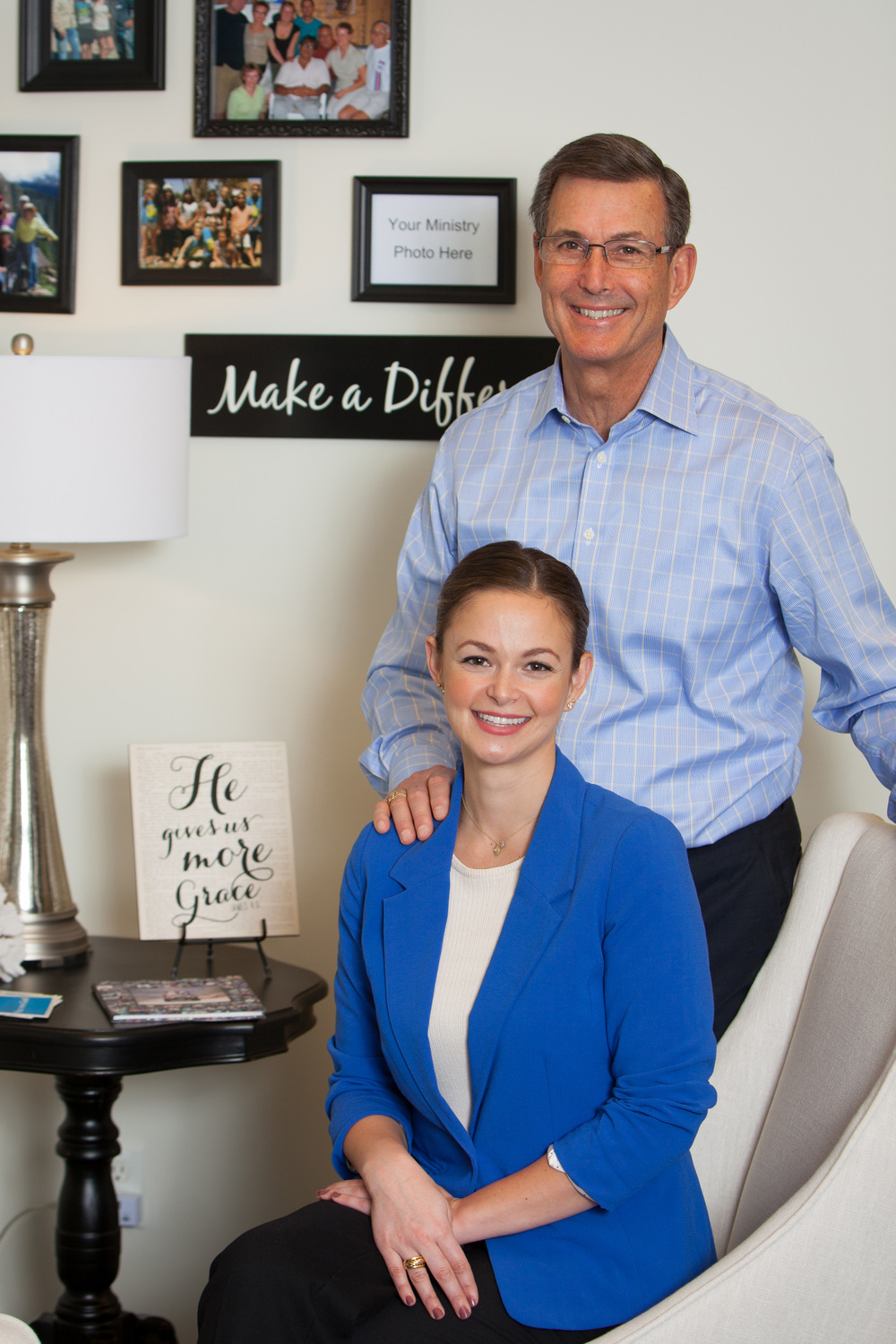 We are a father/daughter team focused on wealth management from a biblical perspective.