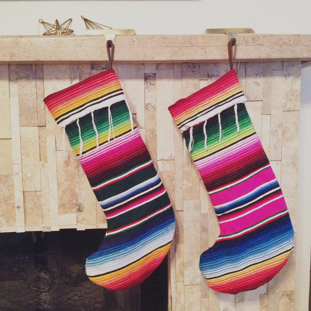 Serape Stockings