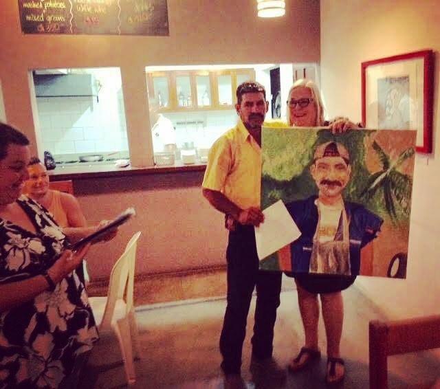 Gracias a todos los que vinieron! / ThAnks to everyone who came!! #art #ggsanjuan #sanjuandelsur #portrait