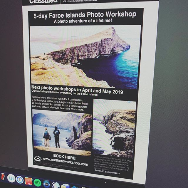 We are featured in this month issue of Digital SLR Photography which usually means that we sell out quite fast!  Hurry up and check out the next 2 photo workshops to the Faroe Islands 🇫🇴- check link in my bio. #. . . . .  #landscape_lovers #sky_captures #landscapephotography #fantastic_earth #landscape_captures #ic_landscapes #ig_exquisite #nature_wizards #nature_shooters #landscapestyles_gf #ourplanetdaily #landscapehunter #naturediversity #landscapelovers #earth_deluxe #instanaturelover #nature_prefection #nature_brilliance  #visitdenmark #ig_denmark  #wu_denmark #ig_scandinavia #canonphotos #canoneos #canonphotographer #ikamper #skycamp #sky4x #manfrottoambassador #alpinelabs