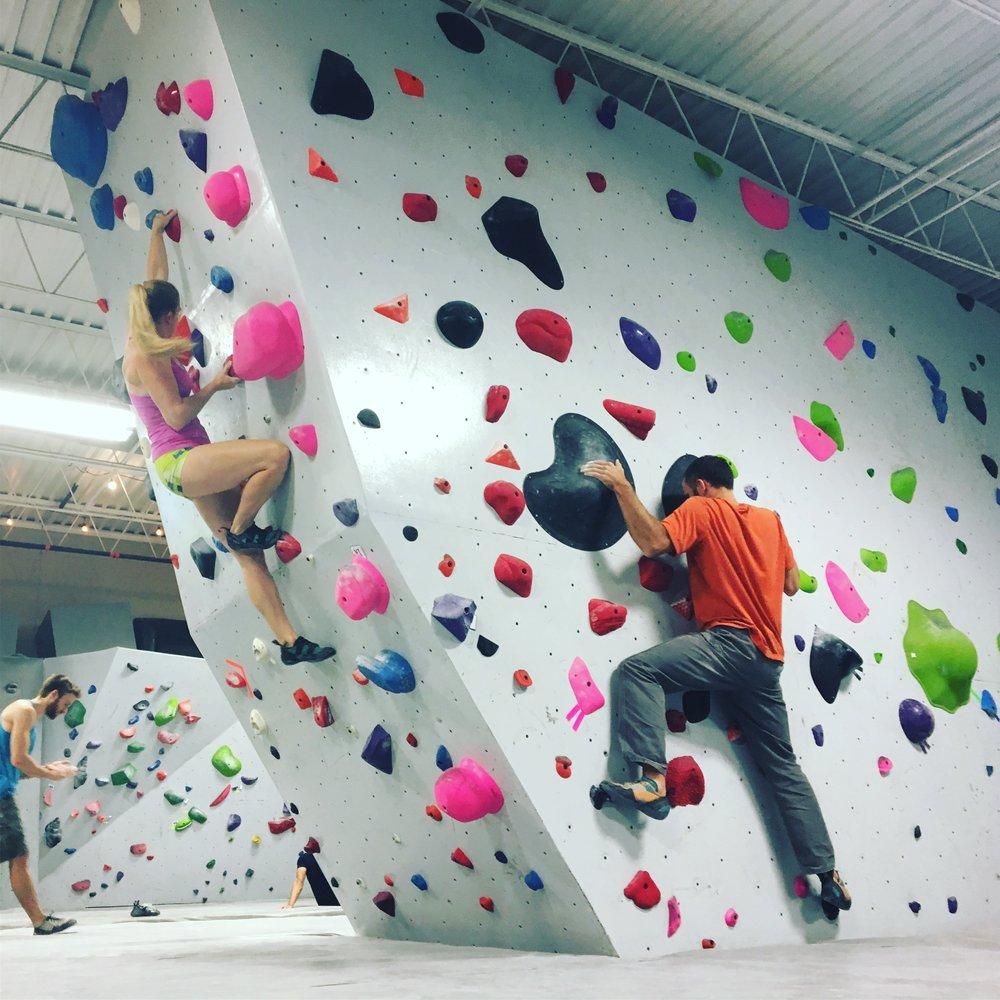 Advanced Bouldering -