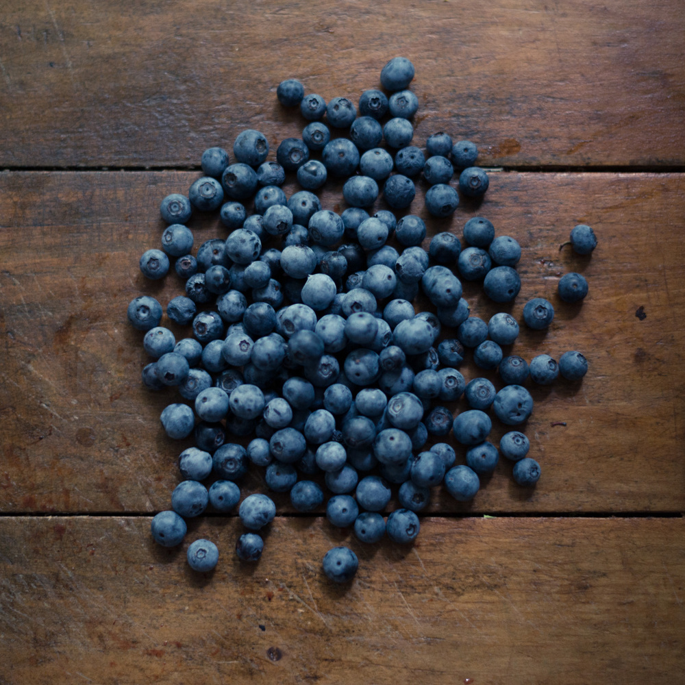 Look at those blueberries. How long do you think they lasted?