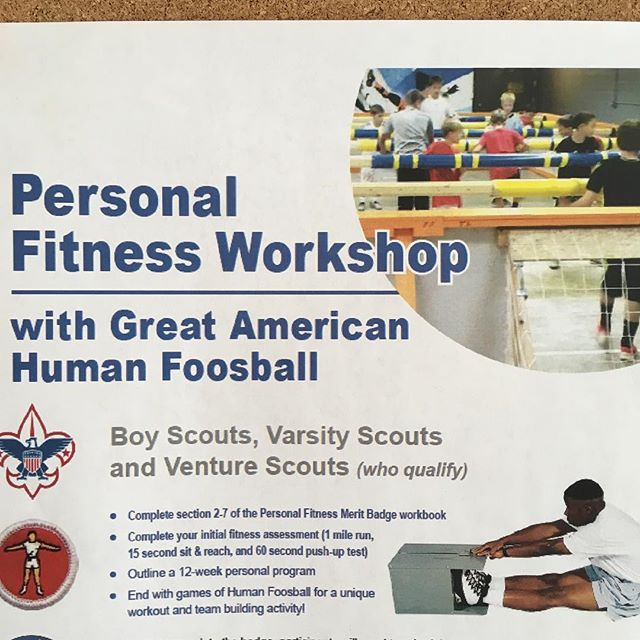 @stlbsa had another great group of Scouts today! #stlouisboyscout #meritbadge #personalfitness